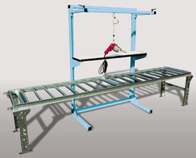 Open Frame over conveyor