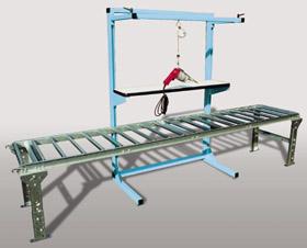 Open Frame over conveyor