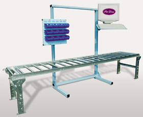Oen frame with ergonomic modular accessories