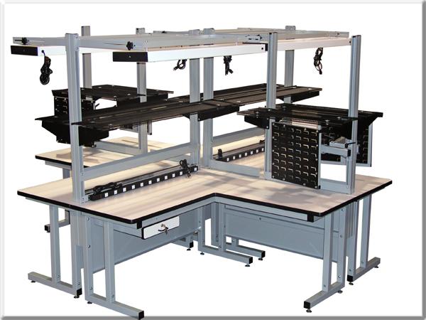 CHD Quad Cell workbench