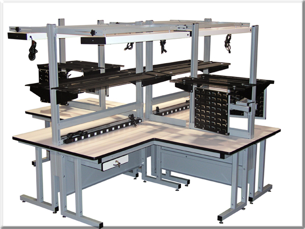 CHD Quad Cell workbench