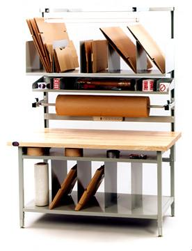 in stock packaging benches