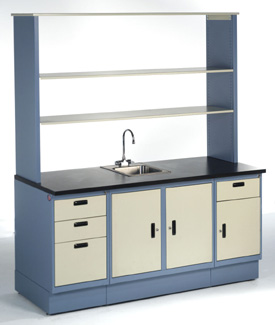 laboratory cabinet casework