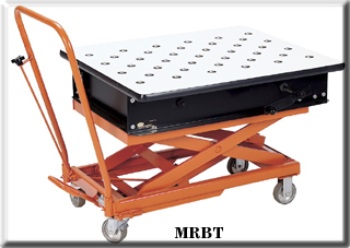 mobile ball transfer bench