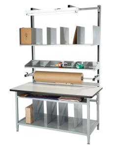 Packaging bench and ESD packaging bench