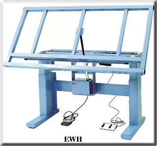 ergonomic wire harness bench