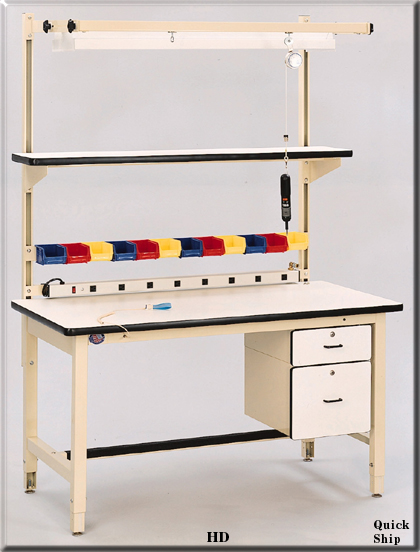 Model HD work bench and ESD benches