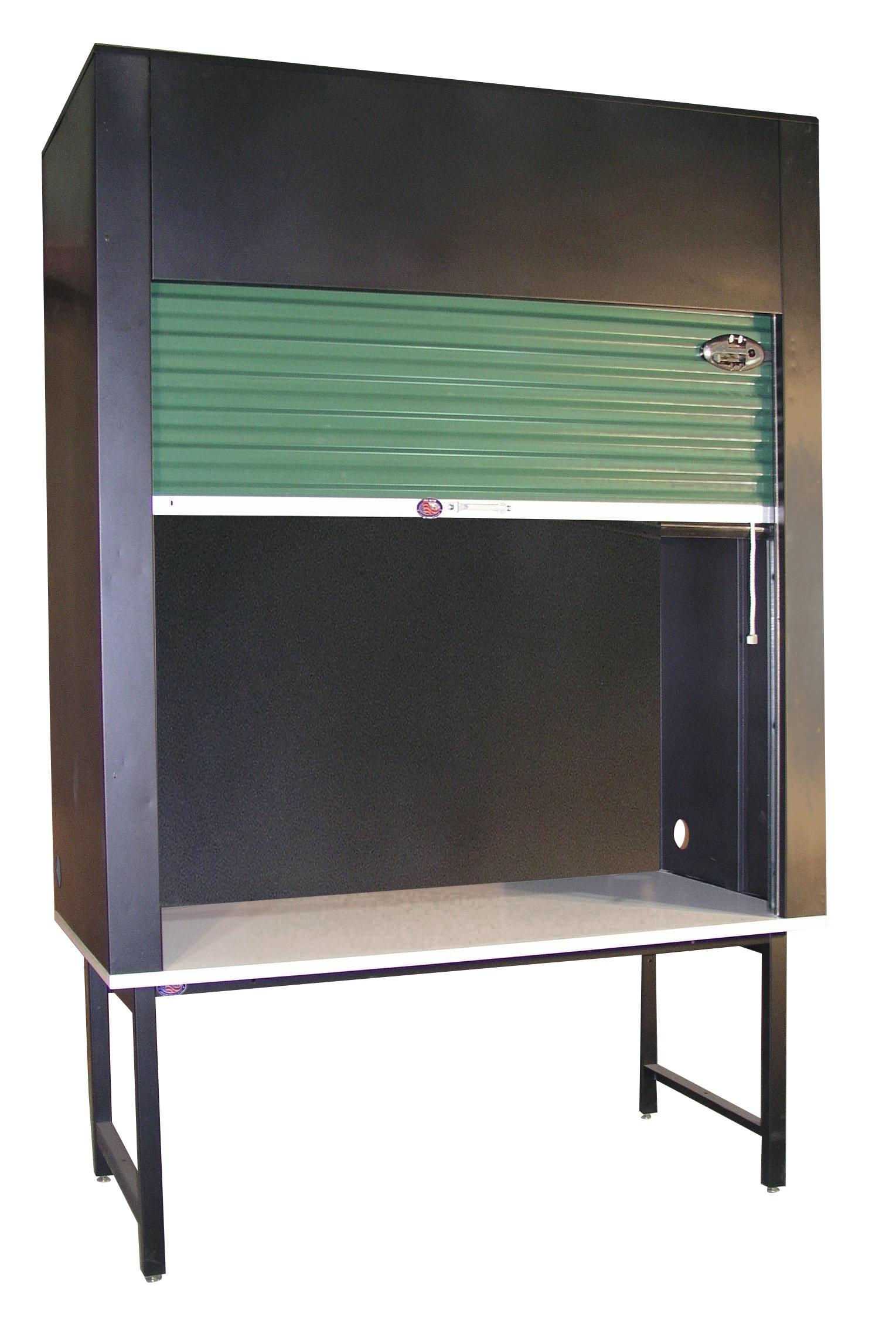 Enclosed storage workbench