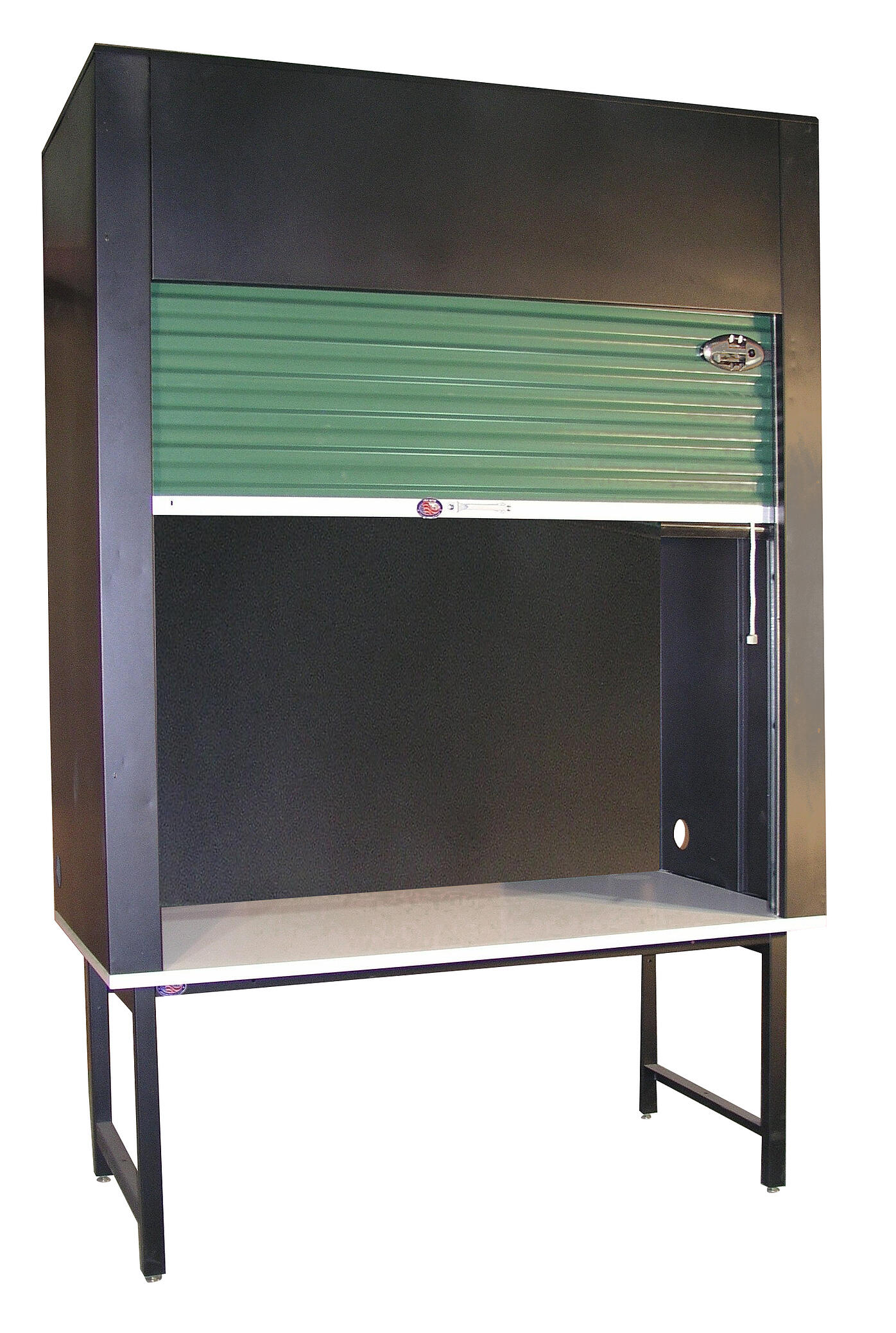 Enclosed storage workbench