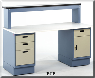 cabinet bench with riser