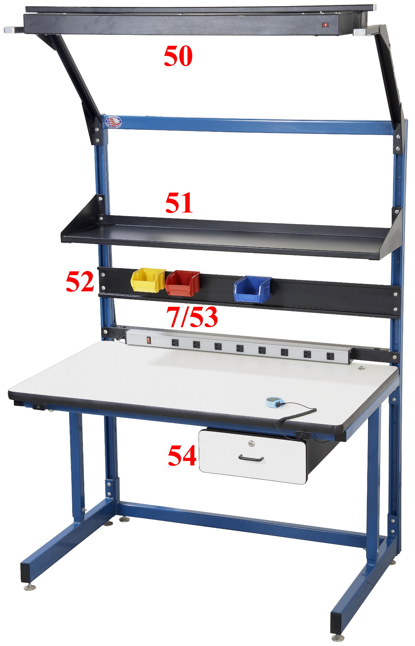 Cantilever Work Bench / ESD Safe Bench