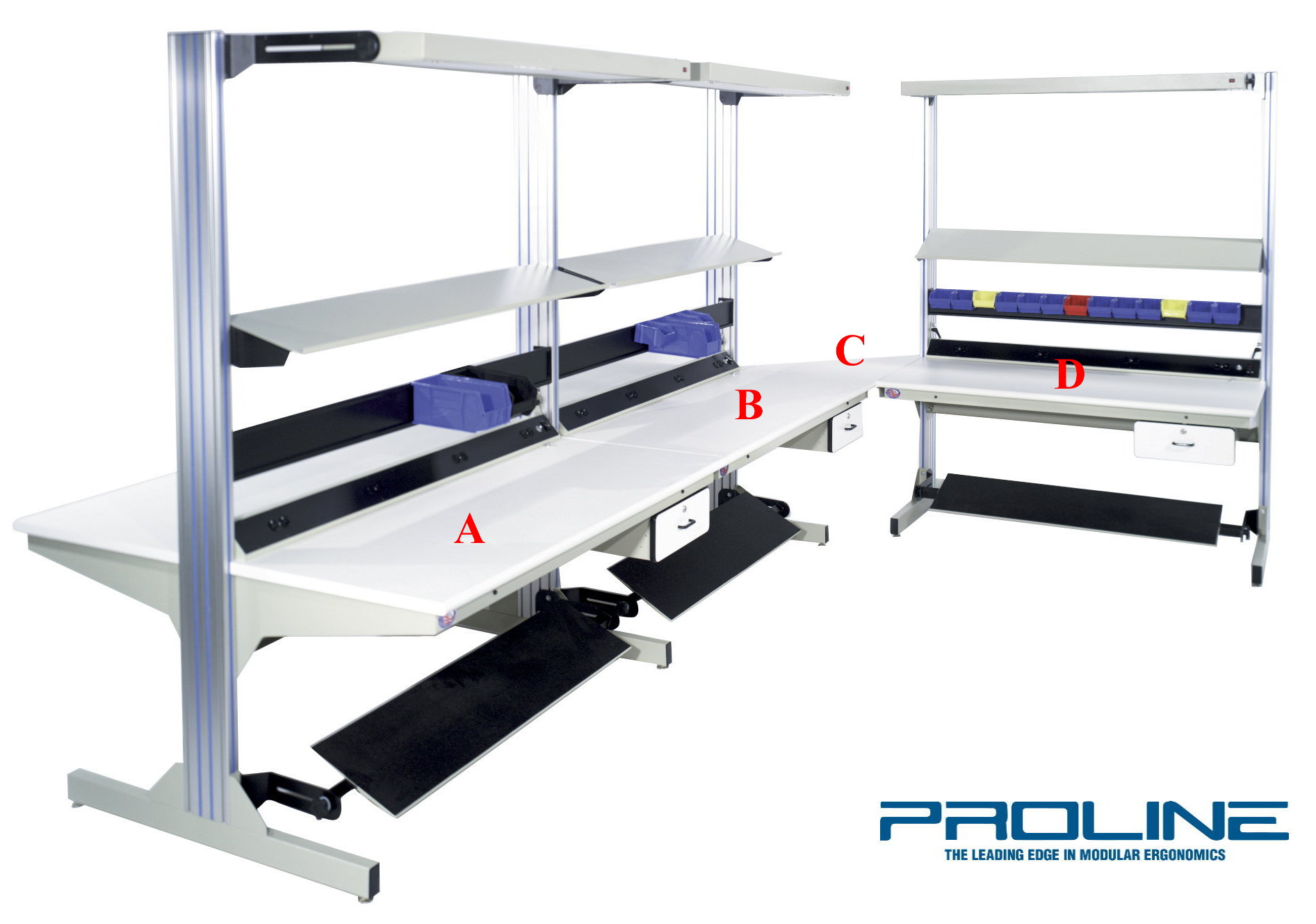 Height Adjustable Workbenches / Production Furniture