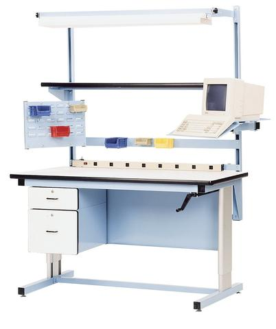 model-el-ergoline-height-adjustable-workbench / Ergonomic Work Bench