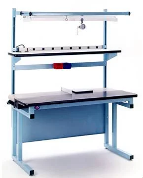 model belt conveyor workbench