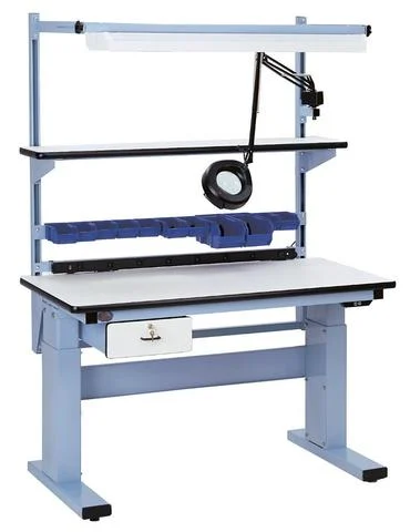 model msii electric height adjustable workbench
